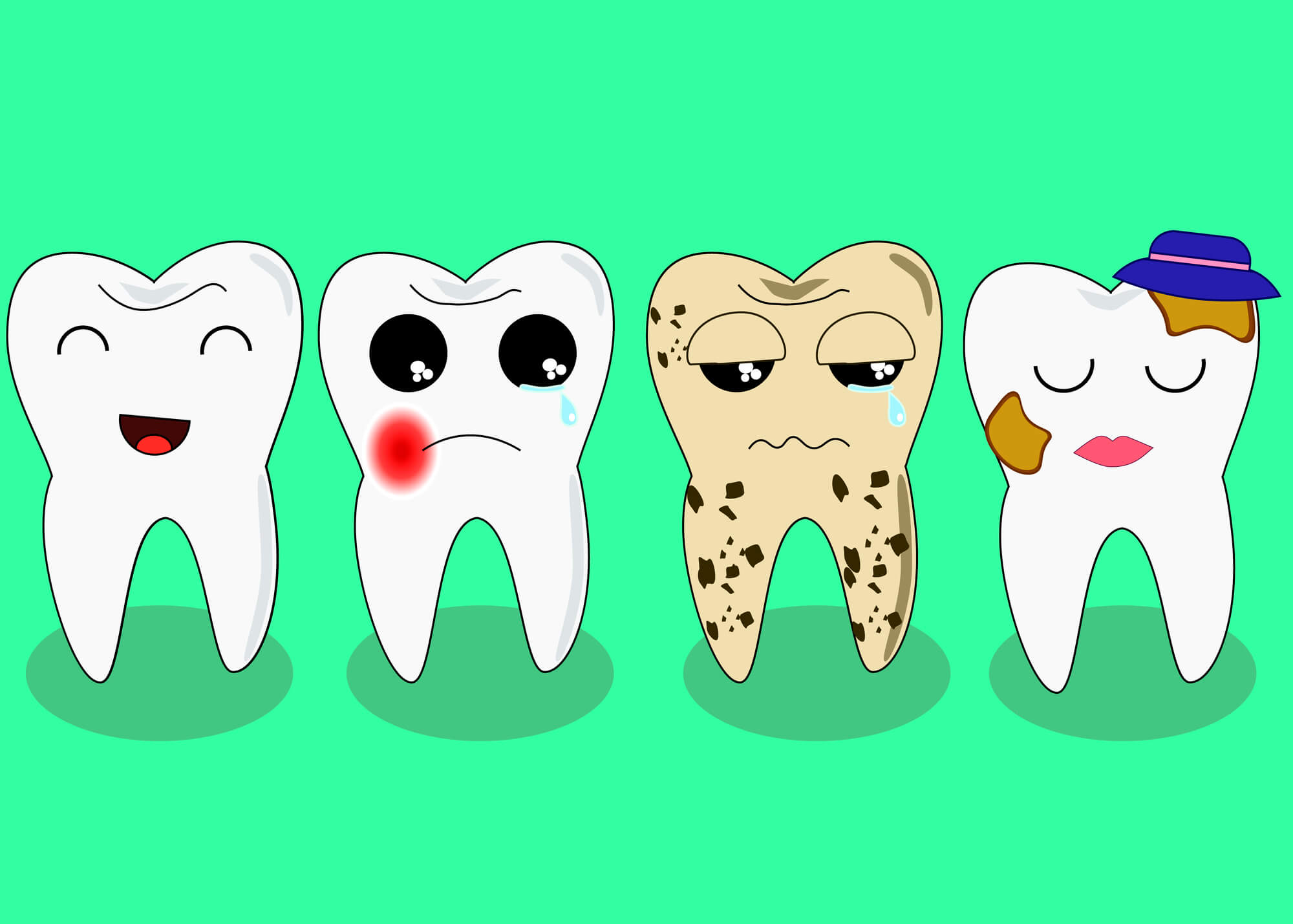 Dental issues for a Tamiami Dentist