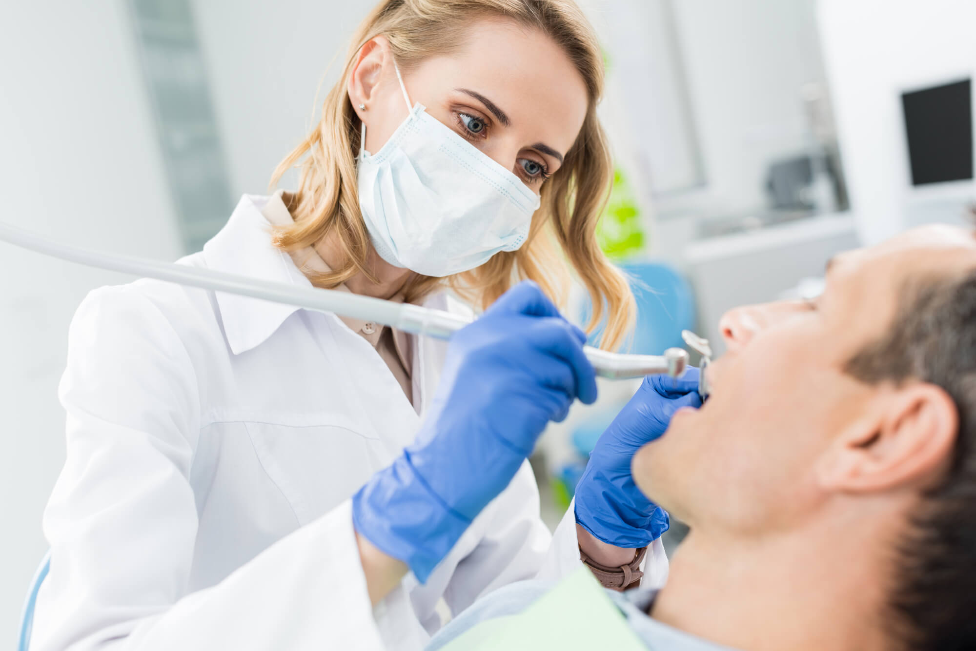 Tamiami Dentist with patient