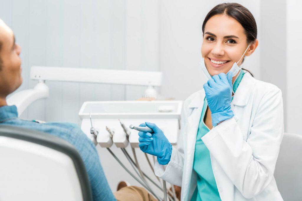 Dental Implants Tamiami dentist chair