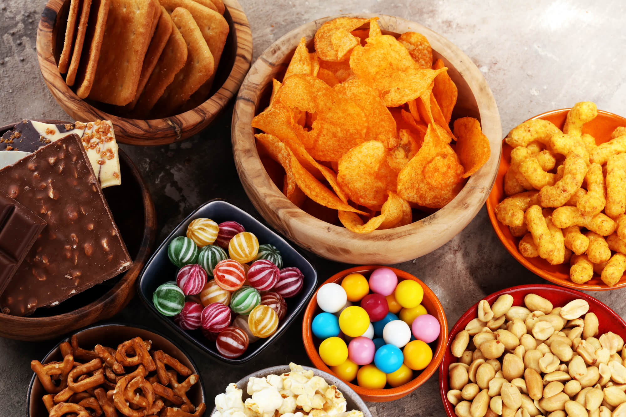 Salty and sweet snacks Tamiami Dentist
