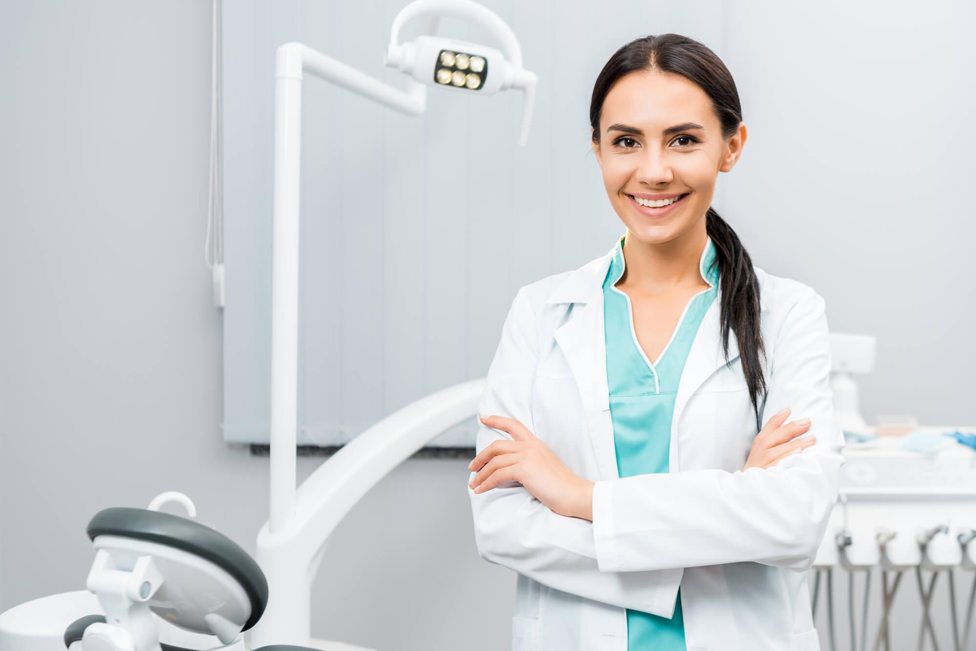 woman dentist in Doral
